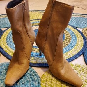 Cole Haan  Calf hair boots Made Italy size 5N